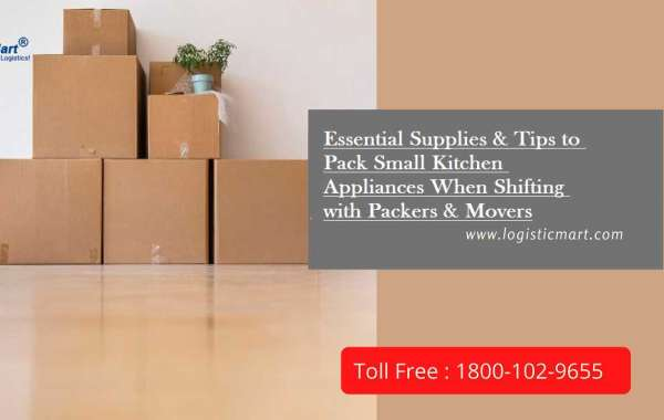 Essential Supplies & Tips to Pack Small Kitchen Appliances When Shifting with Packers & Movers