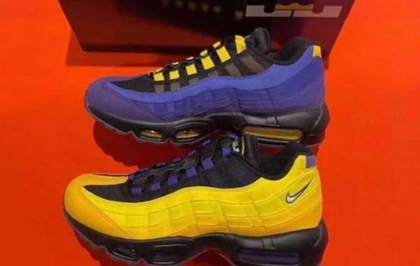"The Nike Air Max 95 NRG ""LeBron"" CZ3624-001 will be officially released on March 30"