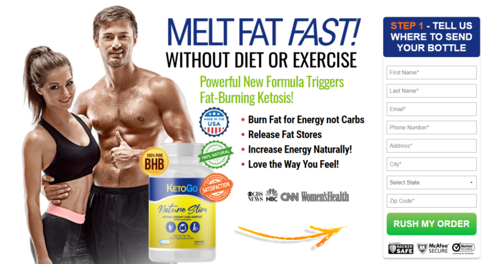 KetoGo - The Power To Burn Fat Is Right Here! Review