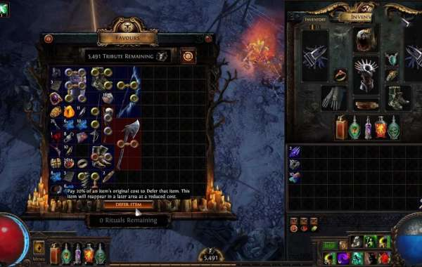 How to make the path of exile both free and deep - 1