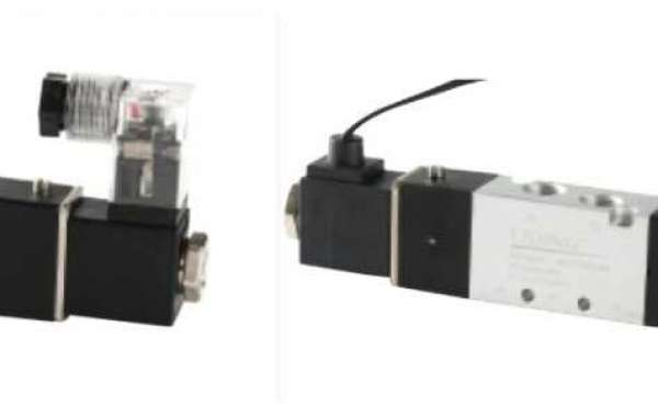 How Nblida 5/2 Directional Control Valve Works