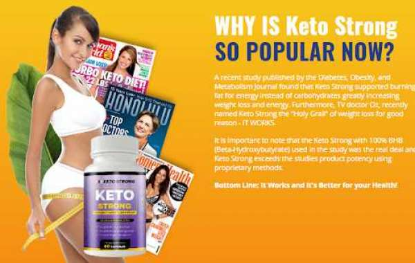 Keto Strong -  Does It Really Works!